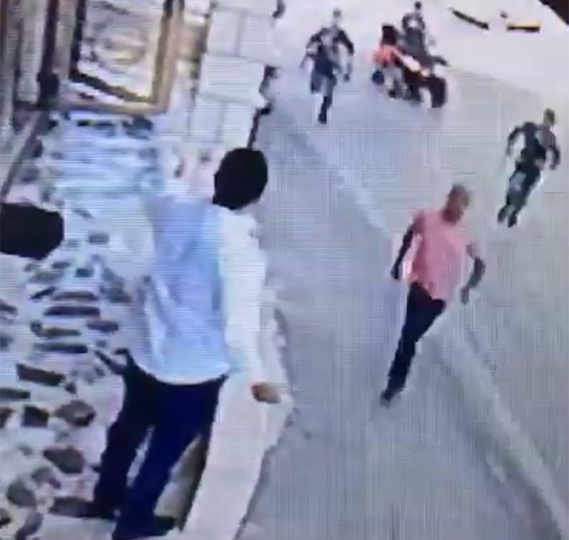 بالفيديو/ الإعتداء على عضو بلدية جب جنين وكاميرا المراقب توثّق