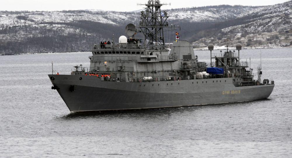 """السفينة الروسية """"يوري"""" وصلت وسفن حربية مسلحة بالتوماهوك في البحر المتوسط...معلومات روسية عن استعدادات لضربة محتملة!"""