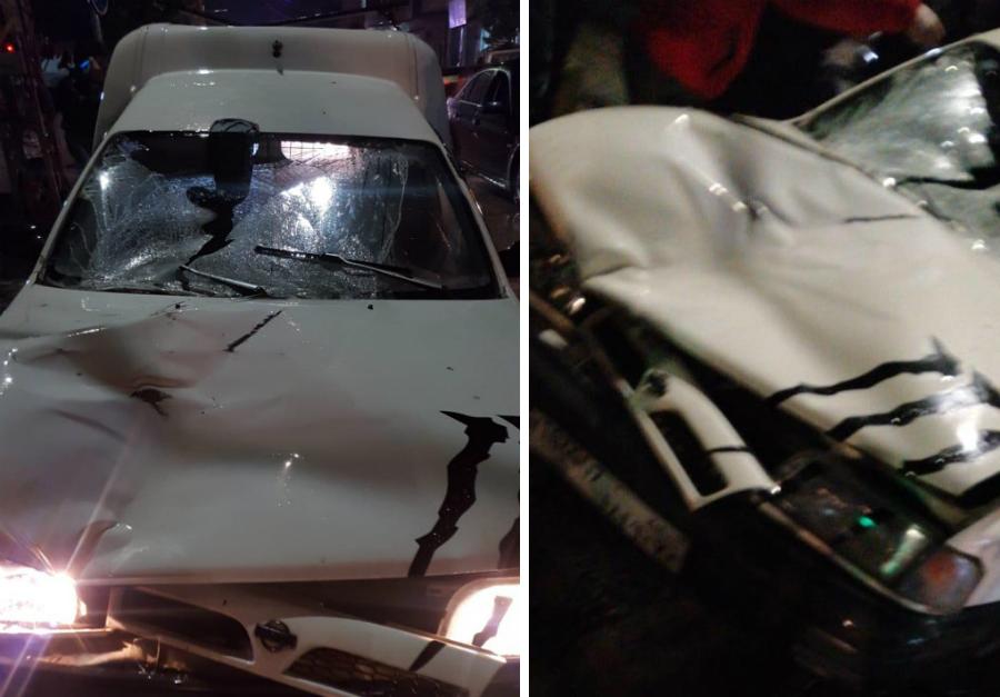عاجل وبالصور/ حادث سير مروع أدى الى وفاة امرأة في بلدة صديقين