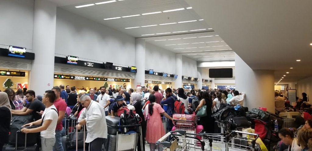 بعد الفوضى التي حصلت في المطار.. رئيس التفتيش المركزي يستدعى  رئيس المطار  والمدير العام للطيران المدني  للتحقيق معهما