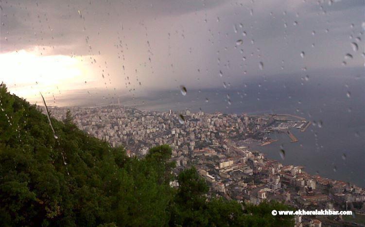 أمطار وبرق ورعد...طقس متقلب وماطر يسيطر على لبنان خلال الأيام القادمة