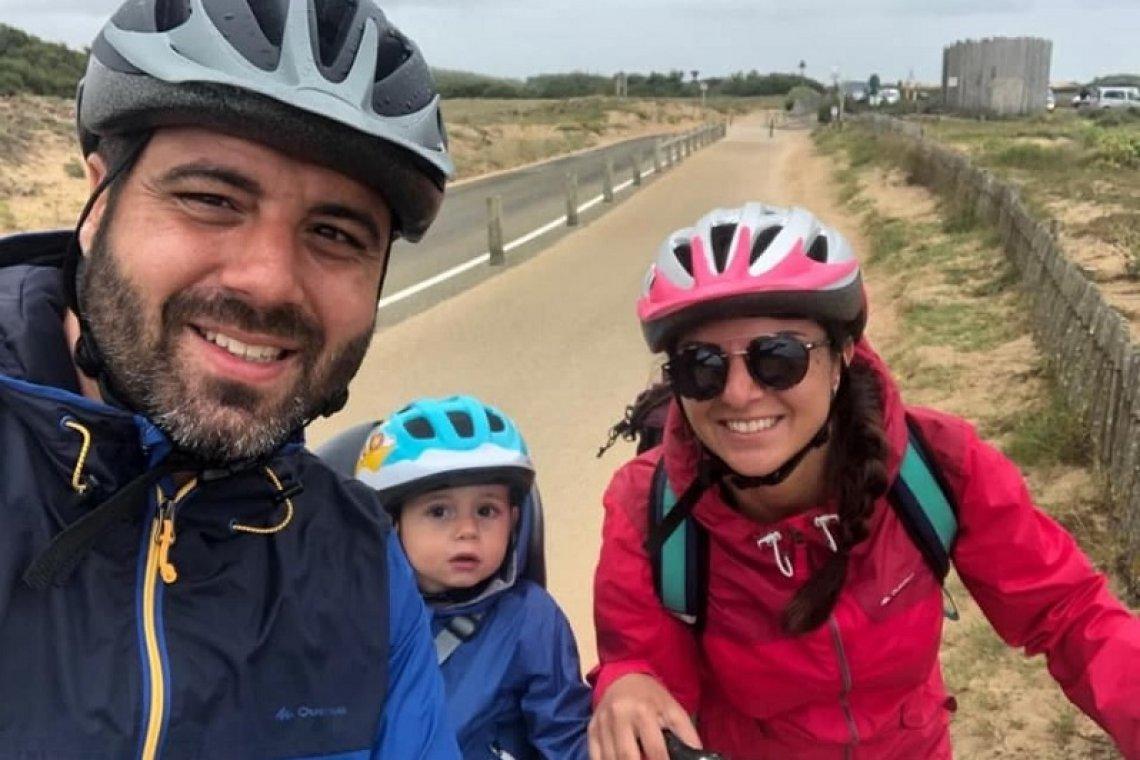 الشاب ماريو حلبي ضحية حادث سير في فرنسا...زوجته أصيبت في الحادث والعناية الإلهية أنقذت طفلهما
