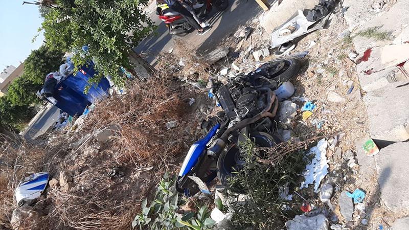 """""""محمد"""" توفي اثر حادث تصادم مأساوي بين دراجة نارية وسيارة في وادي الزينة"""