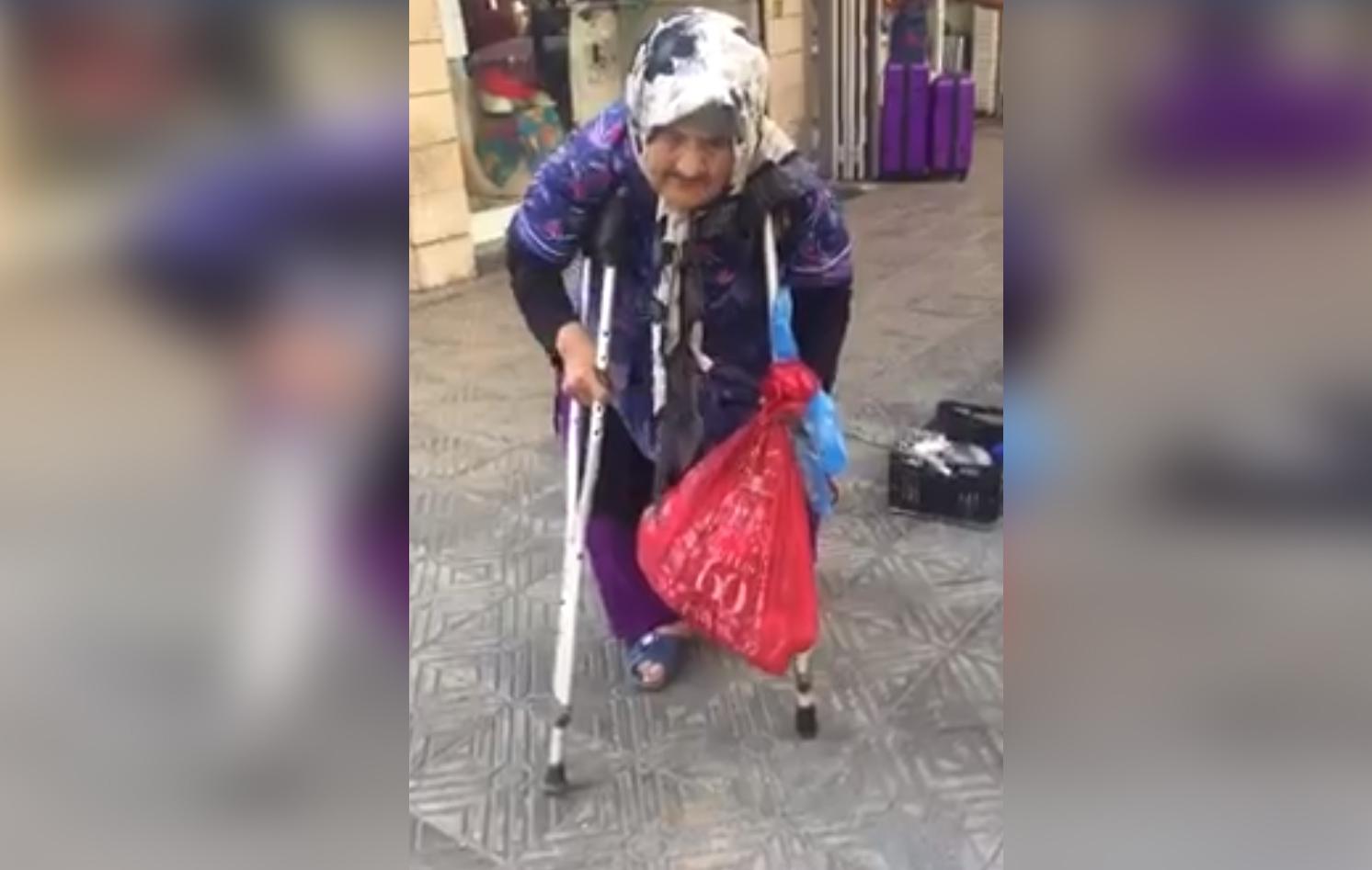 """بالفيديو / مسنة لبنانية بحالة مؤسفة.. """"ما الي حدا بهالدنيا""""!!"""