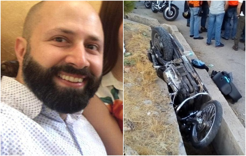 حادث سير مأساوي على دراجة نارية يخطف حياة الشاب سامر كبريت