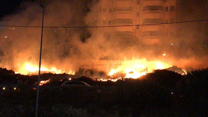 إندلاع حريق كبير في احراج دوحة عرمون.. ومخاوف من امتداد النيران إلى المنازل