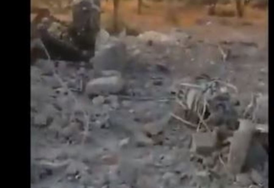 بالفيديو/ المشاهد الأولى لموقع مقتل ابو بكر البغدادي