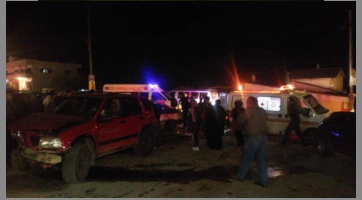 بالصورة/ حادث سير مروع على طريق نيحا وطفل من بين الجرحى