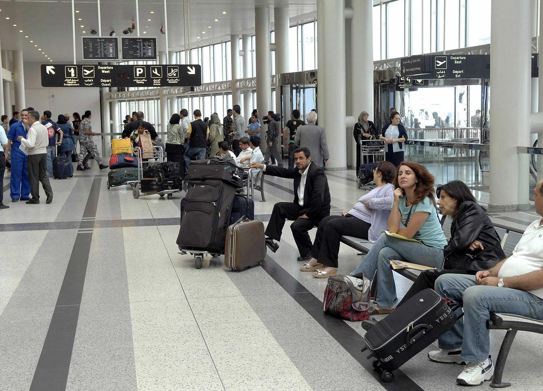 بالأرقام/ تراجع بنسبة 30% في حركة المسافرين من مطار بيروت واليه!