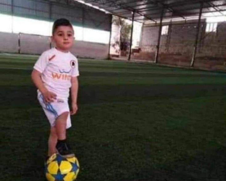 رحيل الطفل عبدالحميد (5سنوات) بعدما صدمته سيارة في احد شوارع بلدته بزال- عكار