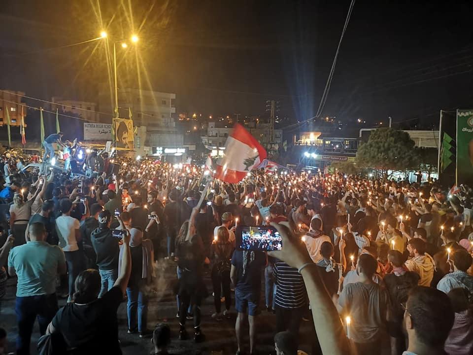 الحزب الشيوعي اللبناني في النبطية ينفي حصول أي إعتداء على المعتصمين في دوار كفررمان