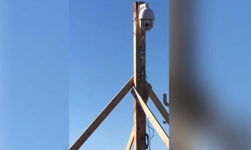الجيش اللبناني يرفع كاميرا مراقبة في خراج بلدة ميس الجبل مقابل 3 كاميرات للعدو الإسرائيلي