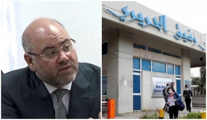 """مدير مستشفى الحريري يُحذّر من كارثة..و""""هناك زيادة بعدد المصابين بين العاملين بمجال الرعاية الصحية (177 حالة) وأحدهم بحالة حرجة"""""""