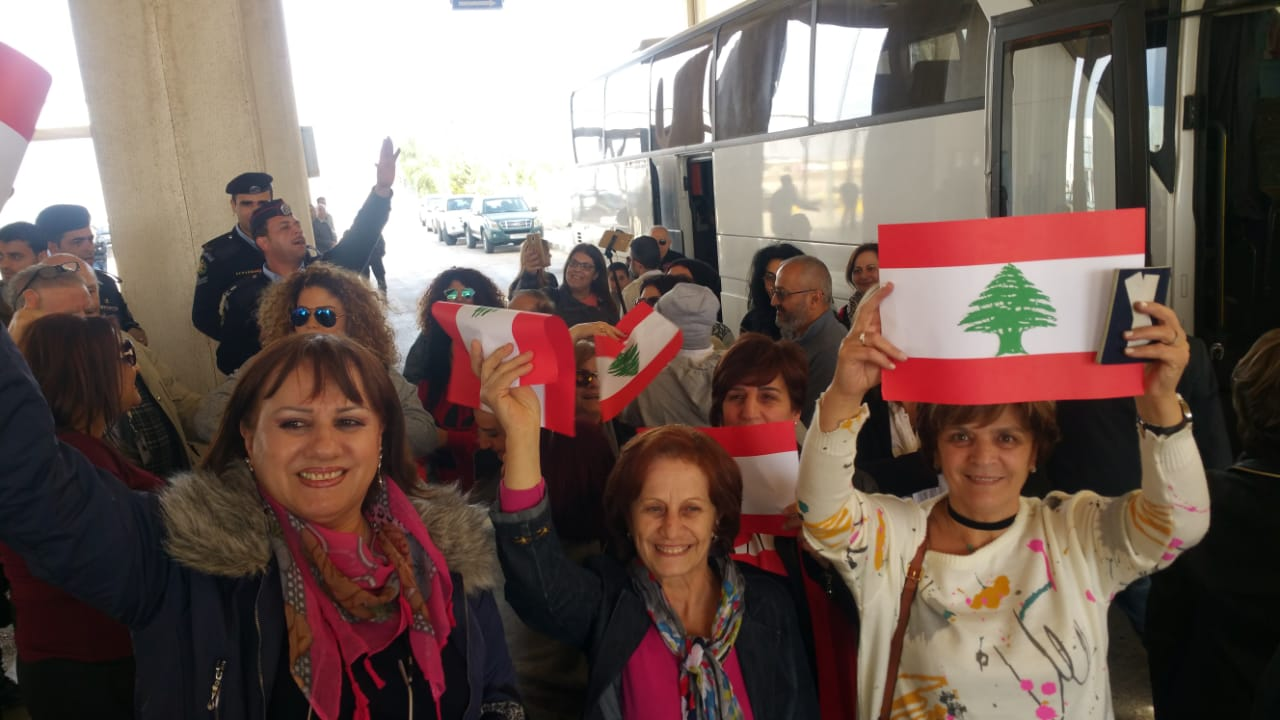 لأول مرة منذ الـ2011..  وصول أول مجموعة سياحية لبنانية عن طريق البر إلى عمان