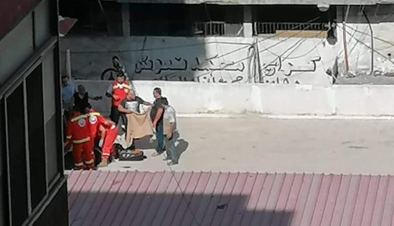 بالصورة/ سقوط سيدة من الطابق الرابع عن إحدى البنايات في محلّة باب الرمل- طرابلس
