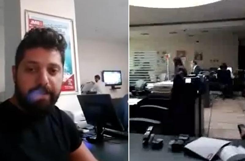"""""""العملة اللبنانية عملة بلدكن أو لأ؟"""" ناشط من داخل إحدى البنوك في طرابلس بدي ادفع بالليرة اللبنانية!"""