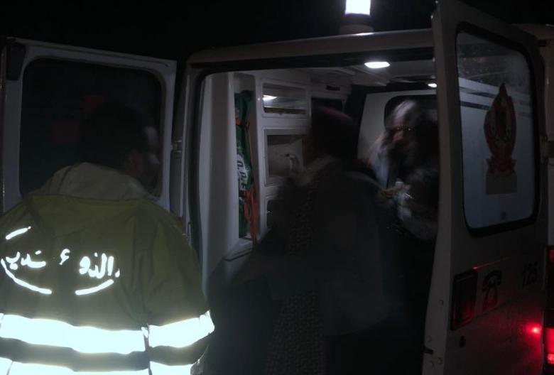 بالصور/ الدفاع المدني ينقذ شاب وثلاث فتيات ضلوا طريقهم في أحراج بلدة بقسميا البترونية