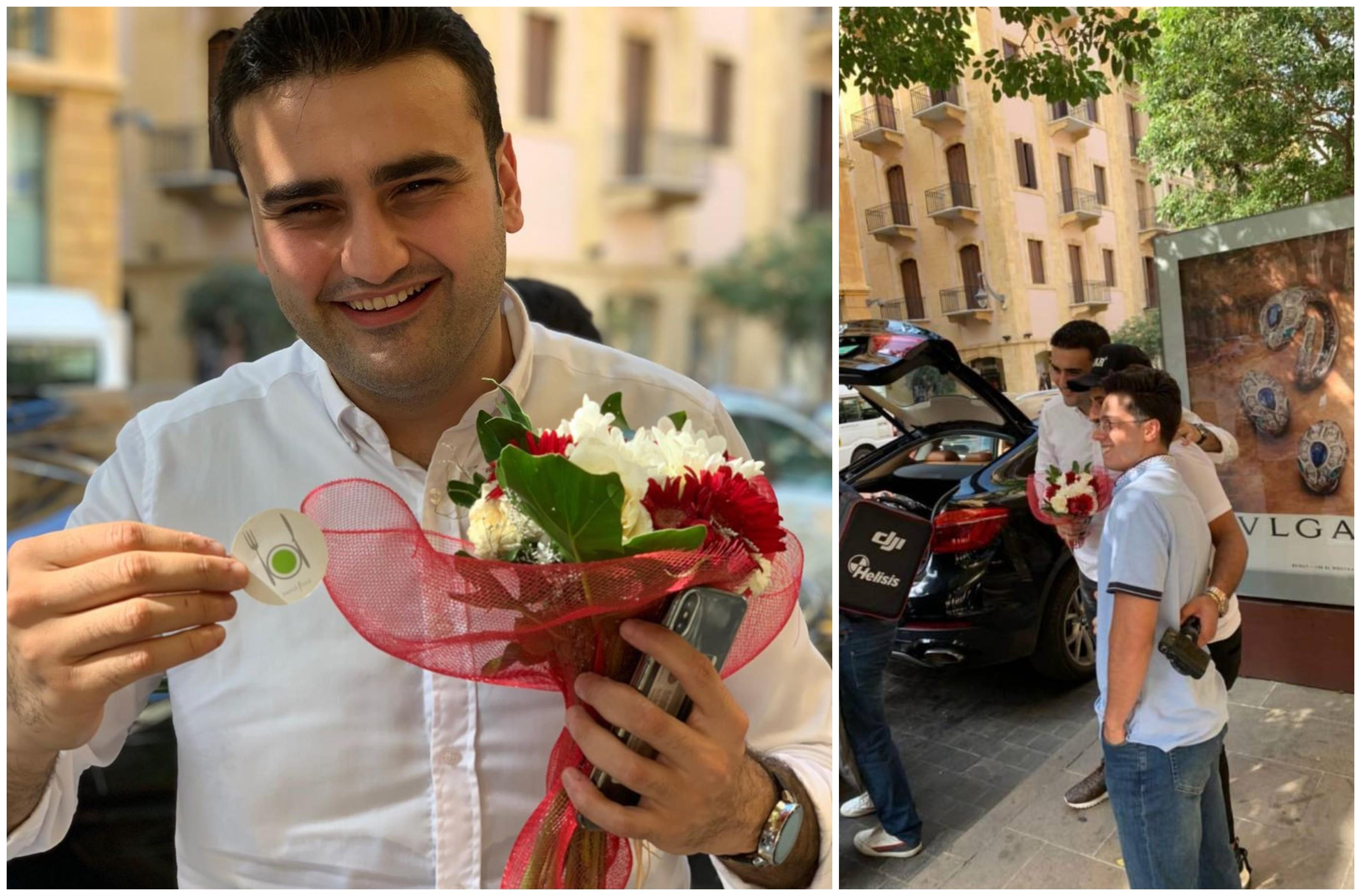"""بالصور والفيديو/ محبوب الجماهير الشيف """"بوراك"""" التركي وصل إلى بيروت في جولة على المطابخ اللبنانية"""