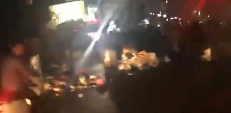 الوكالة الوطنية: إشكال بين متظاهرين ومواطنين عند كورنيش المزرعة وقوة من الجيش تدخلت