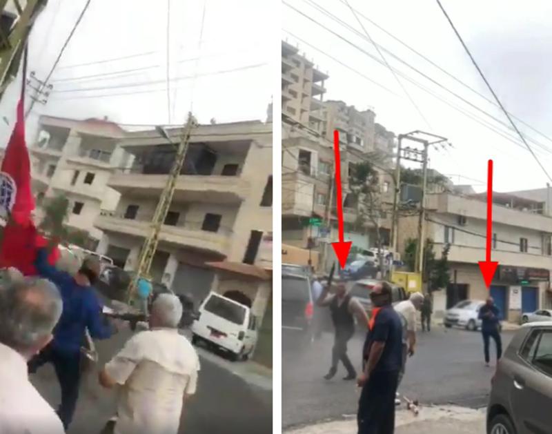 """""""الإشتراكي"""" ينشر فيديو لوقائع حادثة قبرشمون"""