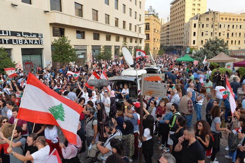 الوكالة الوطنية: دعوات من وسط بيروت وصيدا إلى الإضراب العام غدا