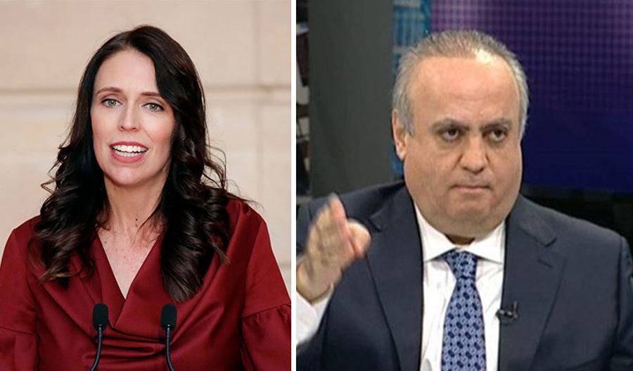 """وهاب ينشر مقطع فيديو لرئيسة حكومة نيوزيلندا ويعلّق """"هي عالم بتستحق الاحترام والتقدير، وهيك الدِين والأخلاق والعدالة"""""""