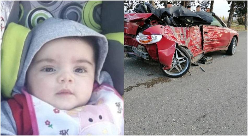 """الصغيرة """"فانيسا خفاجة"""" قضت بحادث سير مروع على طريق كفريا"""