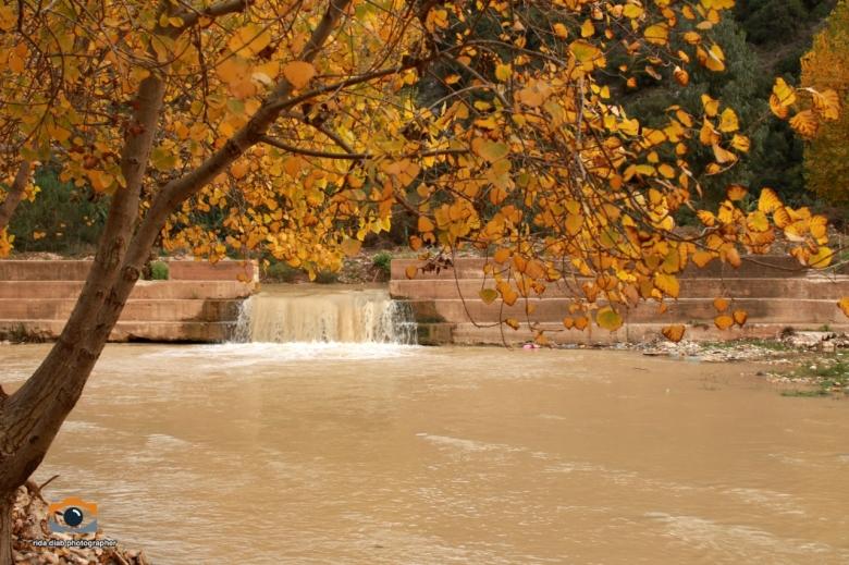 بالصور/ بعد إزالة التعديات...خريف نهر الليطاني في ارزي كما لم تره من قبل!