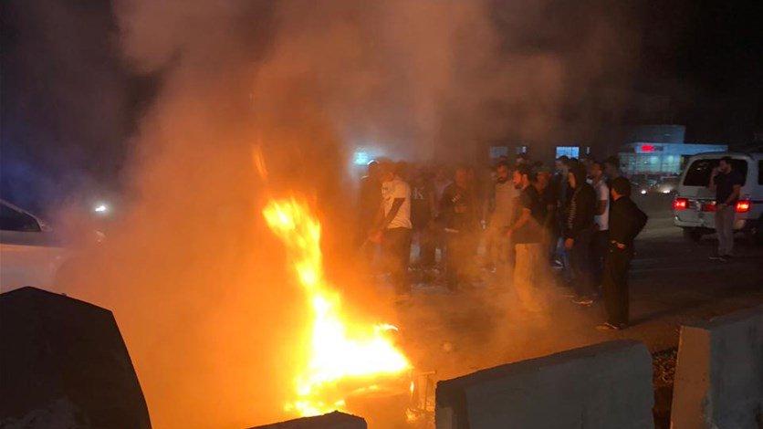 """بالصورة/ اصطدمت سيارة بدراجته النارية ما أدى الى اشتعالها ومقتل """"محمد"""" على الفور في جبيل"""