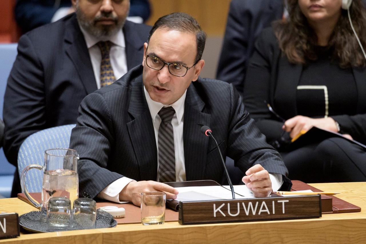 المندوب الكويتي في مجلس الأمن: الانتهاكات الإسرائيلية لسيادة لبنان تفوق خطر أنفاق حزب الله