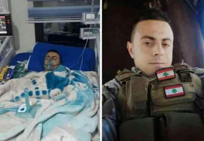 هبوط الطوافة العسكرية في ملعب الجامعة الاميركية كان بسبب نقل جريح في الجيش اللبناني