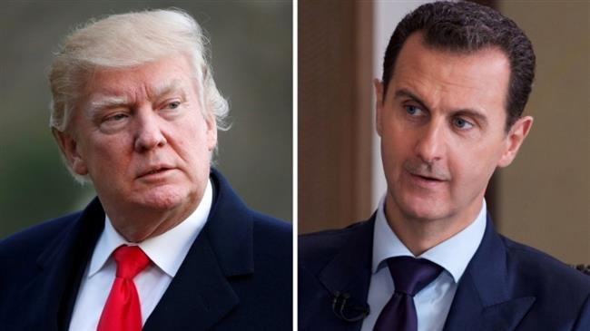 """كاتب أمريكي: ترامب اتصل بوزير الدفاع وأمر باغتيال بشار الأسد...والبيت الأبيض """"ليست أكثر من قصص مفبركة"""""""