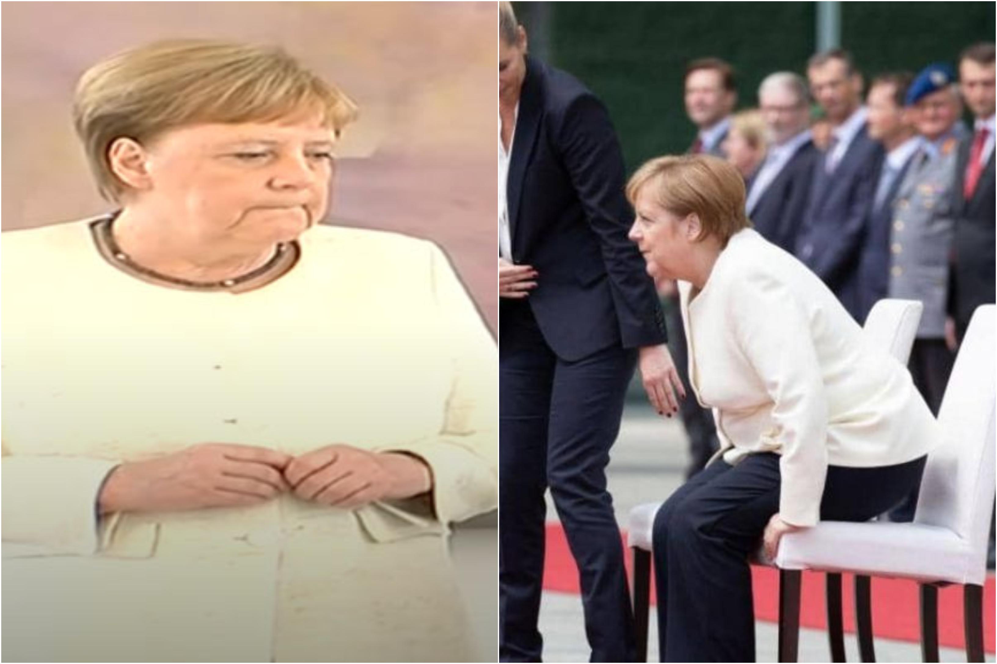 """بعد نوبات الارتعاش...الألمان قلقون على ميركل... """"نرى شخصا يحاول أن يبقى قويا لكنه يرتعش ثم يرتعش"""""""