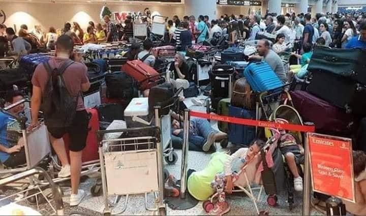 قنبلة الأعطال والتأخيرات في المطار...احتمال أن تكون مفتعلة والتحقيق جار !