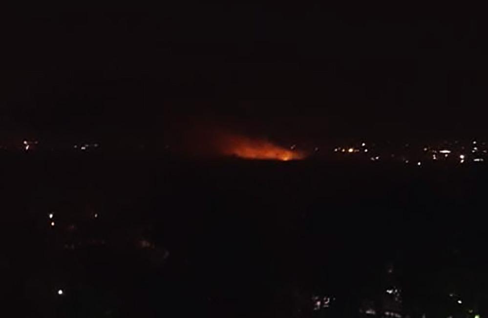 الدفاعات الجوية السورية تتصدى لهجمات معادية على ريف دمشق