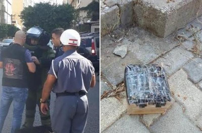 بالصور والفيديو/  تفكيك جسم مشبوه في منطقة كاراكاس في بيروت