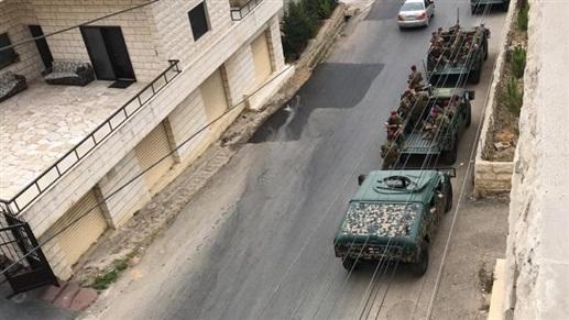 بالصورة/ استقدام تعزيزات عسكريّة للجيش اللبناني في الجبل!
