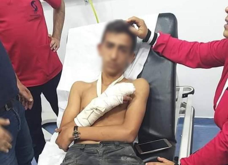 بالصور/ إصابة 5 شبان في مسيرة كشفية في سهل بر الياس..تعرضوا لإطلاق نار من قبل الرعاة!