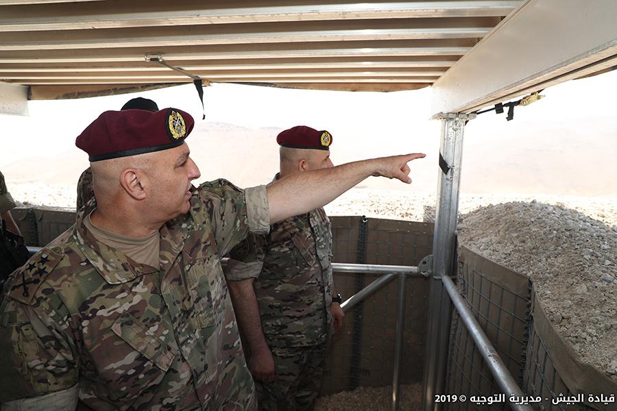 العماد عون: الجيش لن يسمح مطلقا بأي محاولة للاخلال بالأمن..نحن على جهوزية كاملة لمواجهة أي تهديد