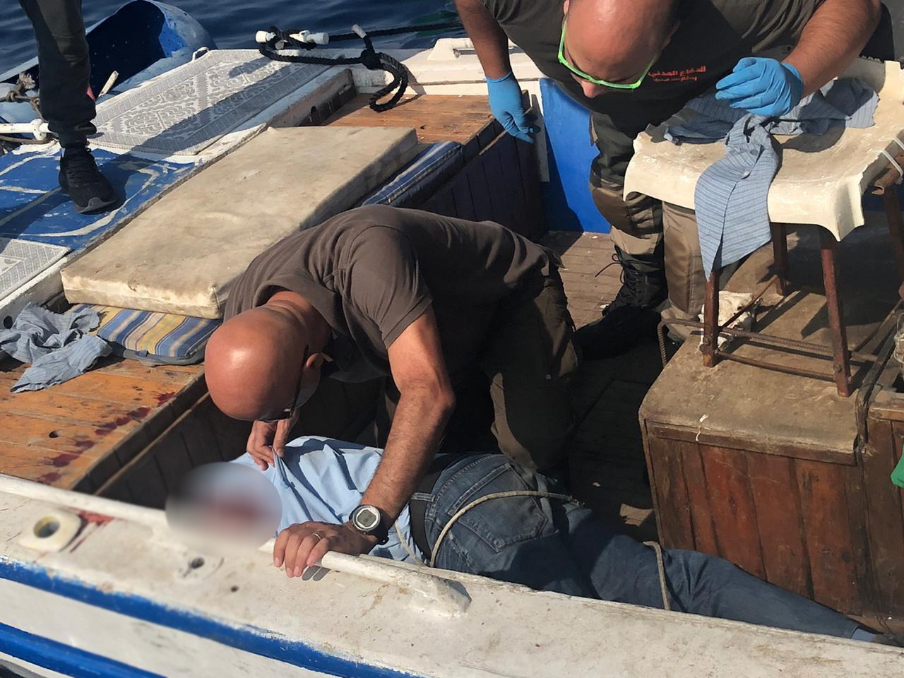 جوزيف عثر عليه جثة...مصاب بطلق ناري بفمه من مسدس حربي داخل زورق مخصص للصيد في الضبية