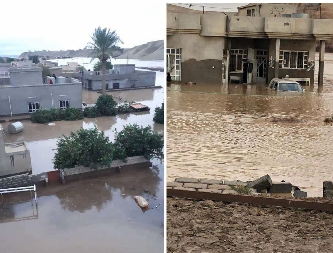 بالفيديو/ من الأردن الى العراق.. مقتل امرأتين وخمسة أطفال وغرق آلاف منزل بالفيضانات!