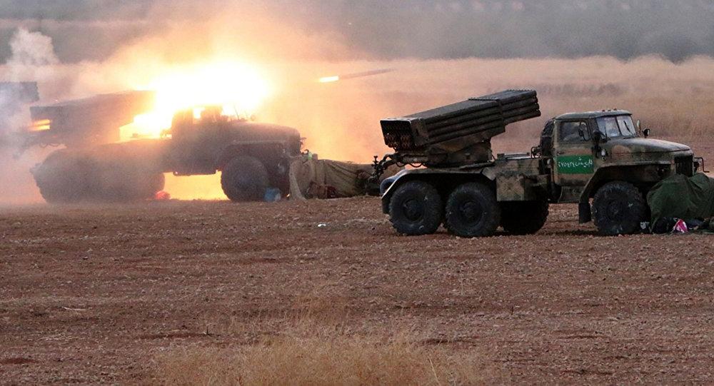 """استيقاظ """"وحش"""" صاروخي من سبات عميق في سوريا!"""