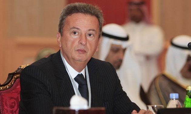 سلامة من أبو ظبي: من المهم أن تكون لنا علاقات مالية متطورة مع الإمارات