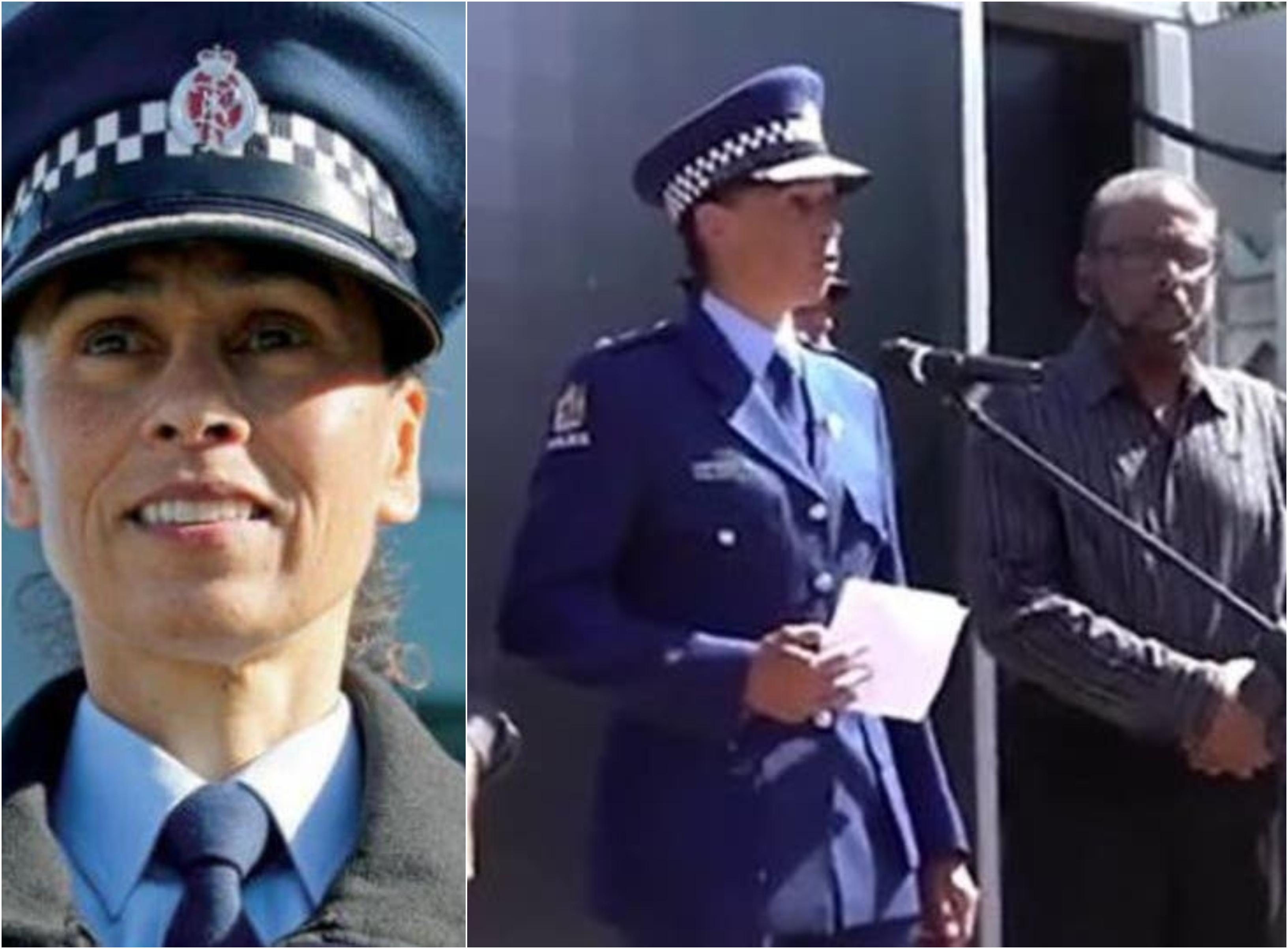 """مديرة شرطة نيوزلندا التي فاجأت العالم بكلمتها """"السلام عليكم"""" أثناء تأبين ضحايا المجزرة زارت مكة وأدت فريضة الحج..""""انبهرتُ حين رأيت الكعبة"""""""