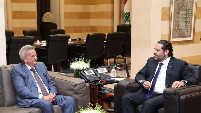 مجدداً..حاكم مصرف لبنان من السراي الحكومي: ليس هناك من أزمة دولار!