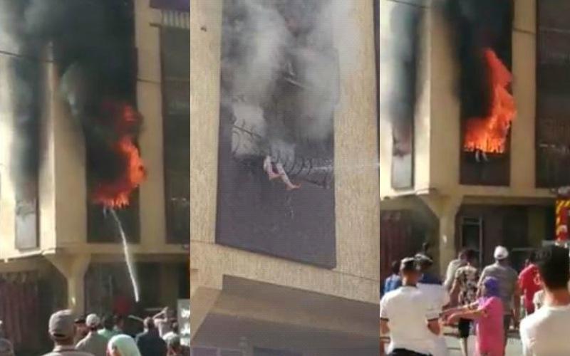 مأساة كبيرة تهزّ المغرب.. احتراق طفلة الـ4 سنوات على مرأى من الناس بعدما علقت في سياج حديدي أثناء هروبها من حريق كبير  إندلع في منزلها