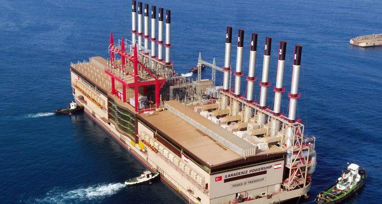 """السفينة التركية """"إسراء"""" بدأت بإنتاج 150 ميغاوات وساعات التغذية في كسروان وجزء من المتن 24/24"""