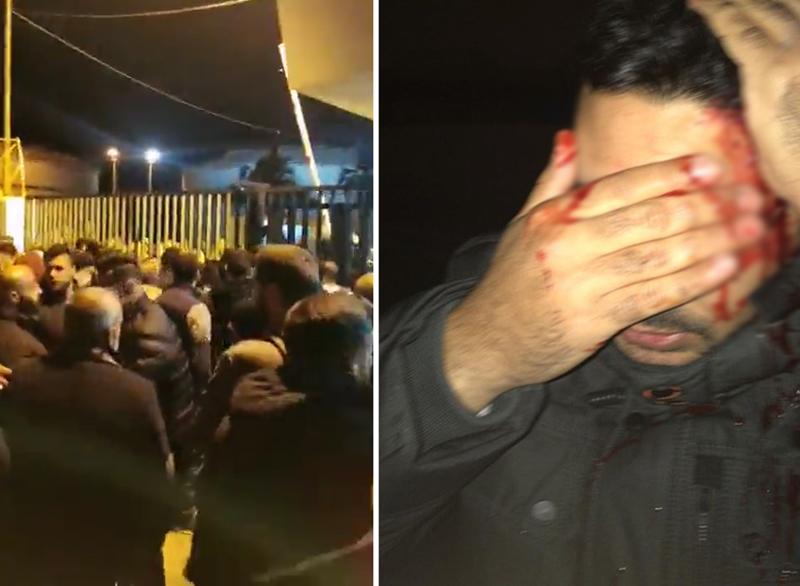 بالفيديو/ الجيش يحاول ضبط الوضع عند معمل الجية والإحتجاجات مستمرة عند معمل الجية الحراري ومعلومات عن وقوع جرحى