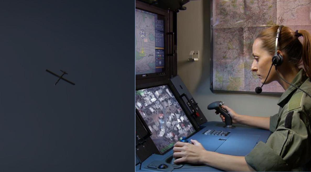 تحليق طائرة إستطلاع إسرائيلية فوق النبطية وقرى إقليم التفاح، على علو منخفض.