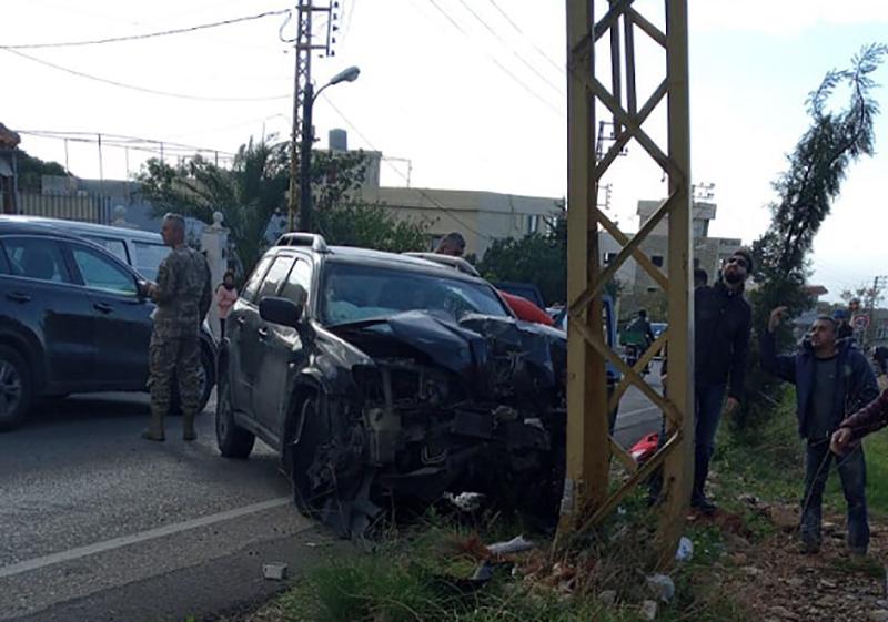 حادث سير مروع على طريق ضهر المغارة - الدبية يودي بحياة مواطن من شحيم